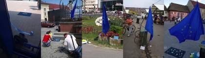 places of the EU flag memorial